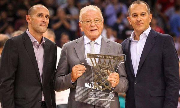 Ολυμπιακός: Το αντίο των προέδρων στον Ντούσαν Ίβκοβιτς