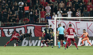 Ολυμπιακός-Αντβέρπ: Οι Βέλγοι πίεσαν και ο Σαμάτα με το 1-1 σίγησε το γήπεδο! (video+photos)
