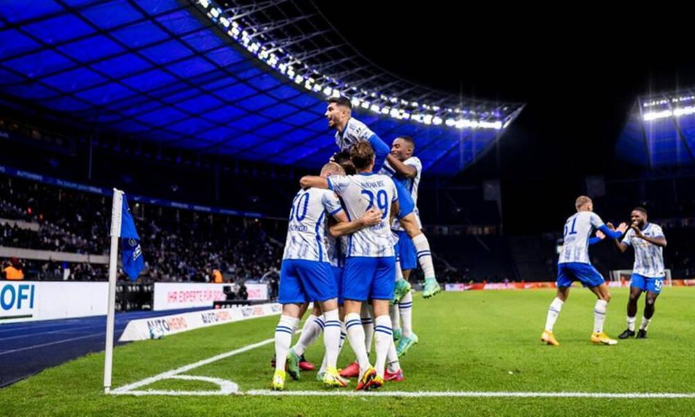 Bundesliga: Νίκη με ανατροπή για την Χέρτα