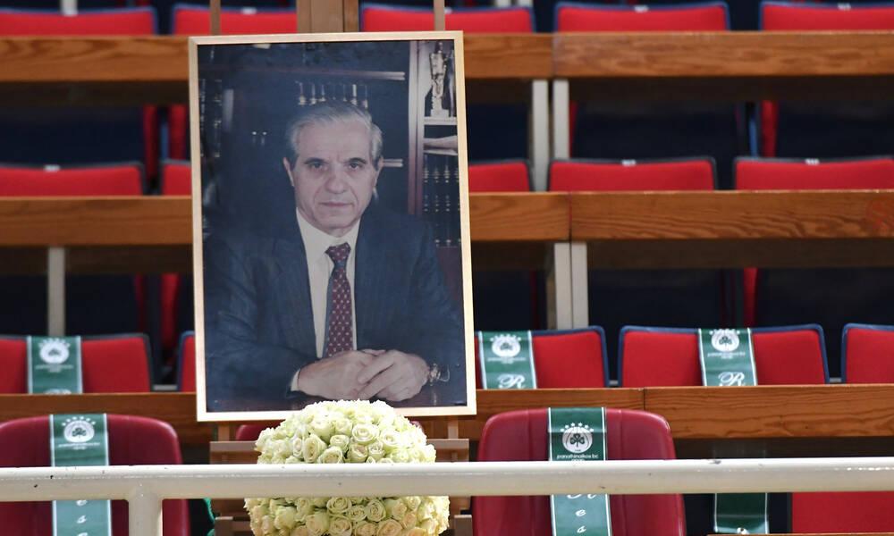 Τουρνουά «Παύλος Γιαννακόπουλος»: Συγκίνηση - Η φωτογραφία του Παύλου στα επίσημα του ΟΑΚΑ (photos)