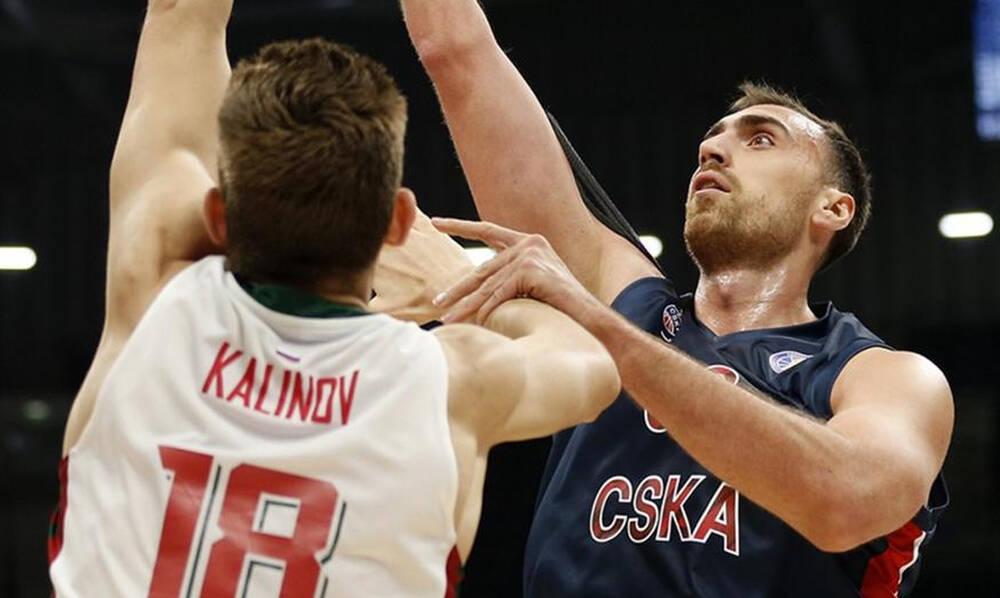 ΤΣΣΚΑ-Λοκομοτίβ Κουμπάν 91-78: «Καθάρισε» με Γκριγκόνις!