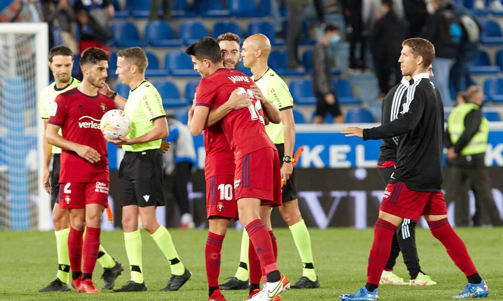 La Liga: Η Οσασούνα κράτησε στο μηδέν την Αλαβές! (Photos)