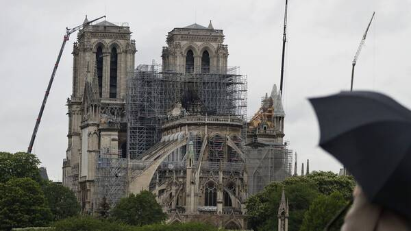 Η Παναγιά των Παρισίων μετά την πυρκαγιά: Εργασίες αποκατάστασης για να ανοίξει το 2024