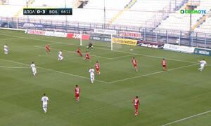 Απόλλων Σμύρνης-Βόλος: Περίπατο και 0-3 Μπαρτόλο, απάντησε σε 1-3 ο Ιωαννίδης! (video)