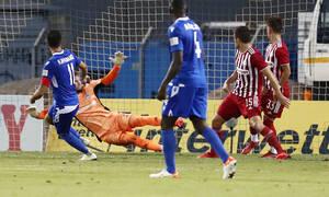 Λαμία-Ολυμπιακός 1-2: Αγχώθηκε αλλά άνοιξε «λογαριασμό» (videos+photos)