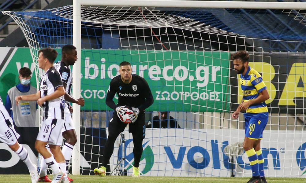 Αστέρας Τρίπολης-ΠΑΟΚ 0-1: Τα highlights της απόδρασης του «Δικεφάλου» (video+photos)