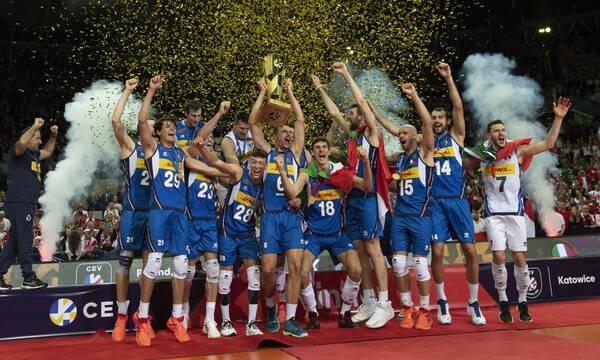 Ευρωπαϊκό πρωτάθλημα βόλεϊ ανδρών: Στην κορυφή η Ιταλία για 7η φορά στην ιστορία της! (video+photos)