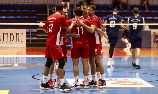 Ολυμπιακός: Στη Σερβία σε φιλικό τουρνουά η ανδρική ομάδα βόλεϊ