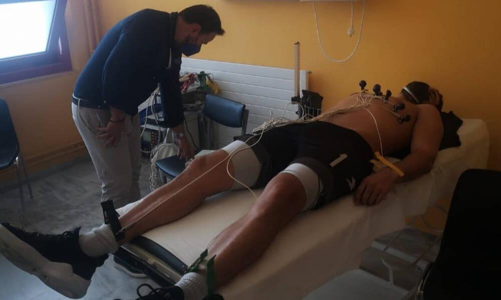 ΠΑΟΚ: Καρδιολογικές εξετάσεις για τους αθλητές βόλεϊ του «Δικεφάλου του Βορρά» (photos)