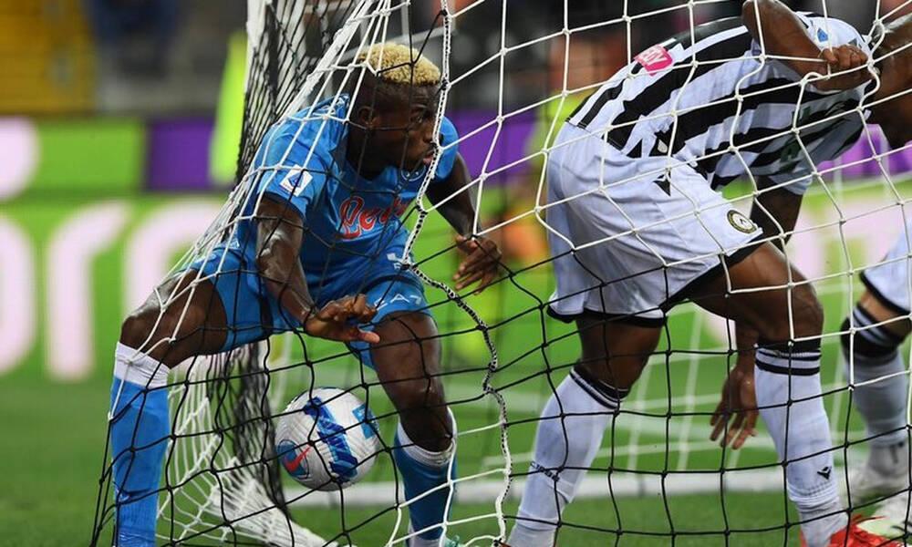 Serie A: Πάρτι χωρίς Μανωλά η Νάπολι κόντρα στην Ουντινέζε και κορυφή! (photos)