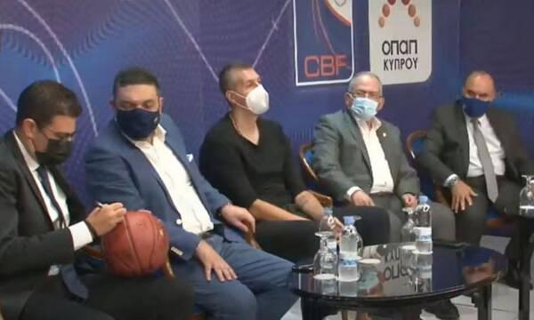 Μουζουρίδης: «Θέλουμε την Ελλάδα στο Eurobasket 2025»
