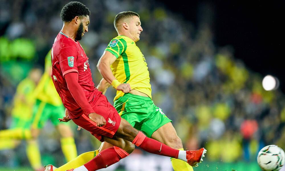 Νόριτς-Λίβερπουλ: Άτυχος ο Τζόλης, έχασε πέναλτι- Από κόρνερ Τσιμίκα το 0-1 (videos)