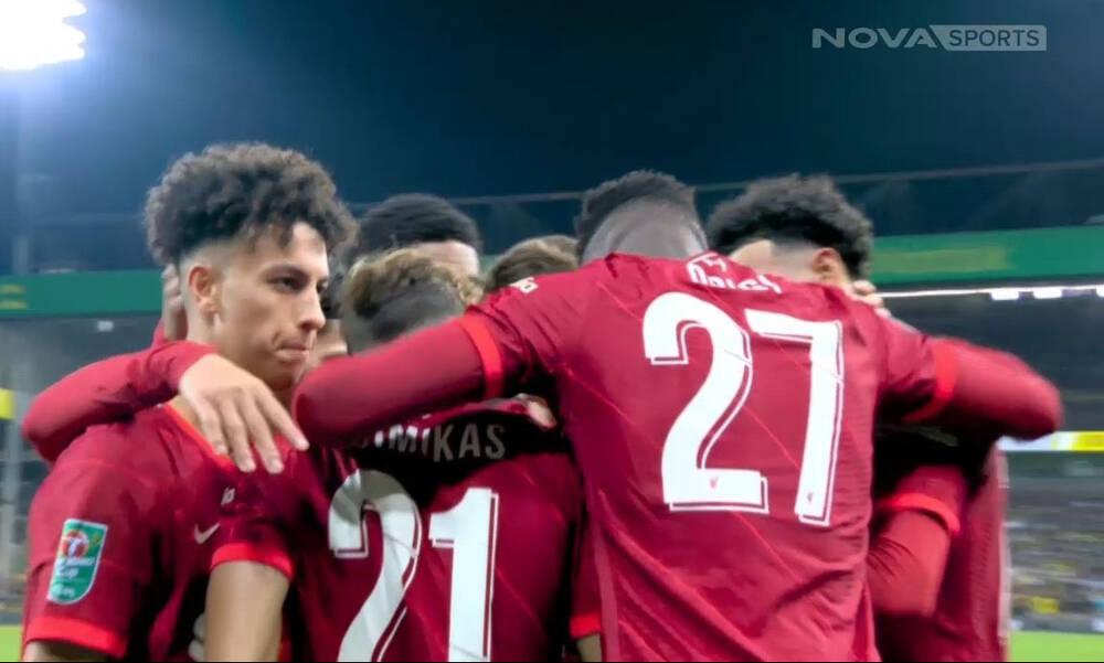 Νόριτς - Λίβερπουλ: Τρομερή ασίστ Τσιμίκα και 0-2 ο Οριγκί (video)