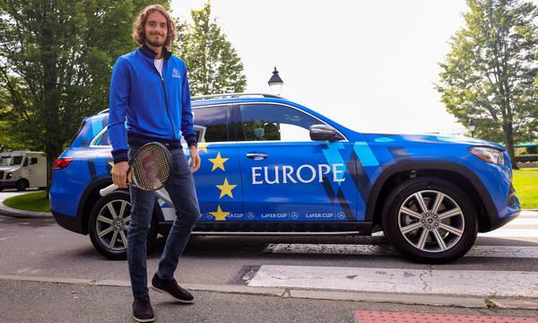 Στέφανος Τσιτσιπάς: Στην Βοστώνη για το 4ο Laver Cup με την ομάδα της Ευρώπης