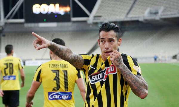ΑΕΚ-Λαμία 1-0: Την λύτρωσε ο Αραούχο (photos+videos)