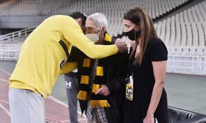 ΑΕΚ-Λαμία: «Αφιερωμένη η νίκη στον κυρ Στέλιο» (photos)