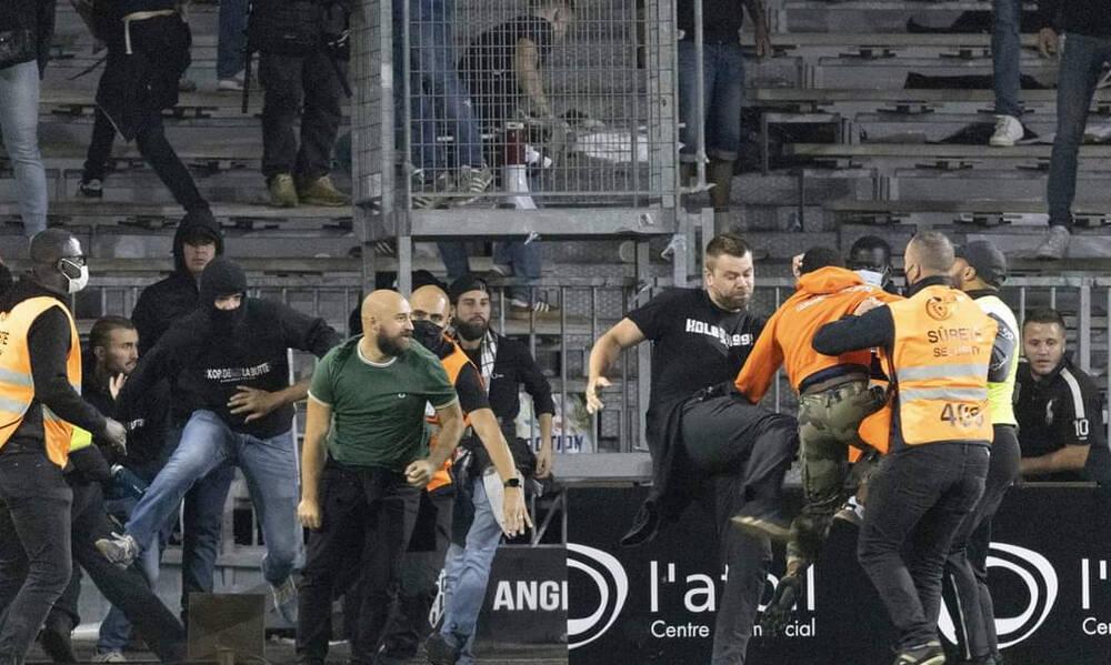 Χάος στα γαλλικά γήπεδα – Δολοφονική επίθεση σε οπαδούς, νέο «ντου» στο Ανζέ-Μαρσέιγ! (videos)
