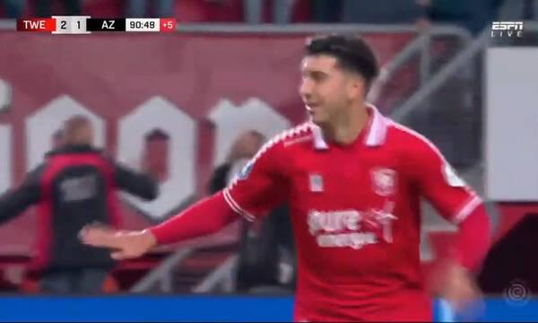 Eredivisie: Πρώτο γκολ Λημνιού στη νίκη της Τβέντε επί της Άλκμααρ (video)
