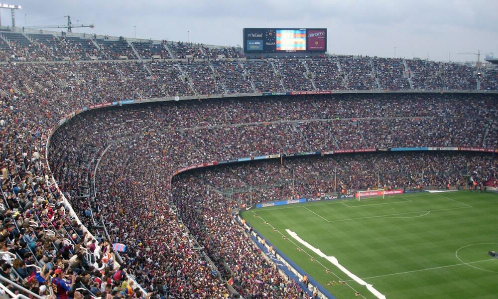 Καμπ Νόου: Το επιβλητικό γήπεδο της Μπαρτσελόνα όπως δεν το έχεις ξαναδεί!