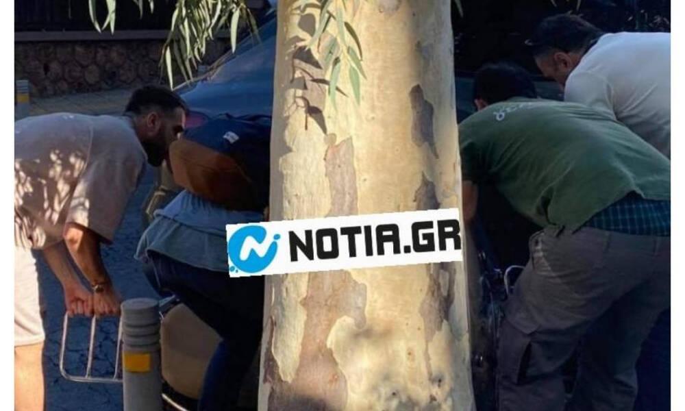 Κώστας Φορτούνης: Ενεπλάκη σε τροχαίο - Τράκαρε με μηχανή