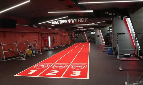 Ολυμπιακός: Το νέο γυμναστήριο στο ΣΕΦ (Video – Pics)