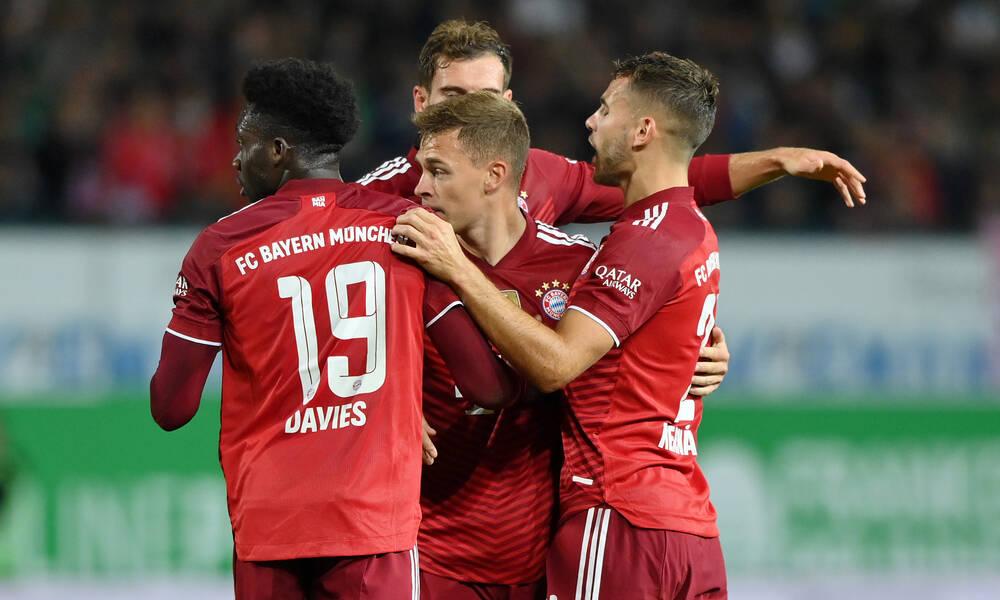 Bundesliga: Τριάρα η Μπάγερν και με παίκτη λιγότερο (photos+video)
