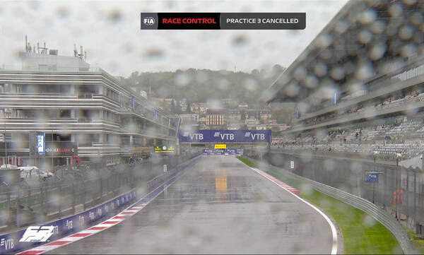 Formula 1: Άνοιξαν οι ουρανοί στο Σότσι – Ματαιώθηκαν τα πρωινά δοκιμαστικά (video)