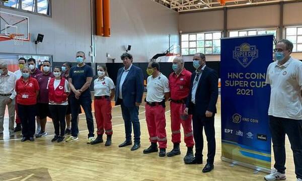 ΕΣΑΚΕ: Ελληνικός Ερυθρός Σταυρός και η Λίγκα μαζί και στο 2ο Super Cup