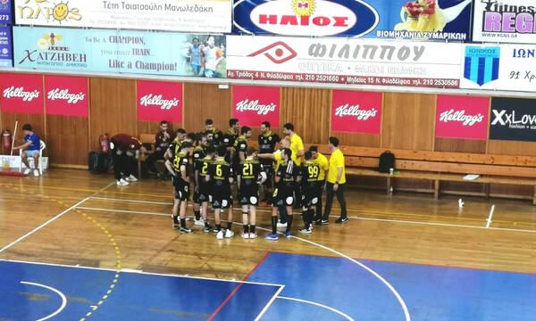 Handball Premier: «Περίπατος» της ΑΕΚ επί του Ιωνικού στη Νέα Φιλαδέλφεια (video)