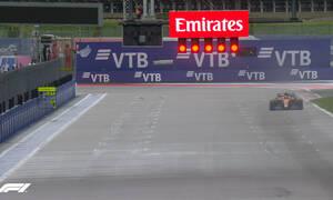 Formula 1: «Χόρεψε» στη βροχή ο Νόρις - «Καταστροφή» για Χάμιλτον (video)
