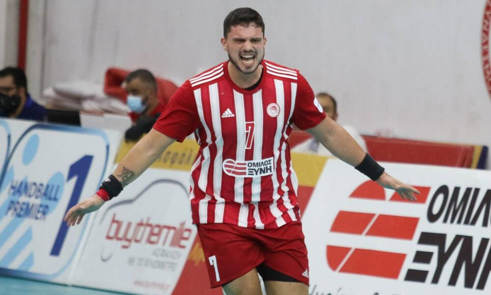 Ολυμπιακός: Για το 2Χ2 στην Handball Premier κόντρα στον Άρη Νίκαιας