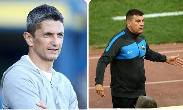 ΠΑΟΚ-ΑΕΚ: Αήττητος με Λουτσέσκου ο Μιλόγεβιτς, το σερί του Ρουμάνου με την Ένωση (photos)