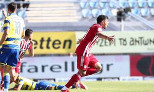 Αστέρας Τρίπολης-Ολυμπιακός: Σκόραρε ο Τικίνιο - Το VAR ακύρωσε το γκολ του Σίτο