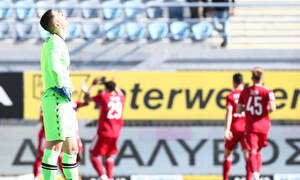 Αστέρας Τρίπολης-Ολυμπιακός: Τραγικό λάθος ο Παπαδόπουλος - Με απίθανο τρόπο το 0-2 (video)