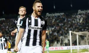 ΠΑΟΚ-ΑΕΚ: Κέρδισε πέναλτι ο Μπίσεσβαρ, άνοιξε λογαριασμό ο Κούρτιτς (video)