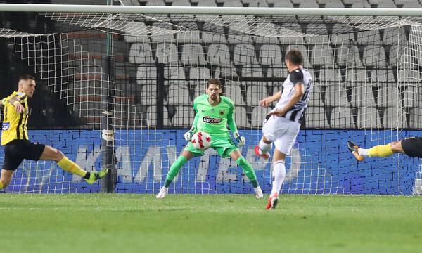 ΠΑΟΚ-ΑΕΚ: Άγγιξαν το 1-0 οι γηπεδούχοι, τρομερή απόκρουση ο Στάνκοβιτς (videos)