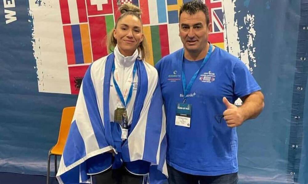 Άρση Βαρών: Δύο χάλκινα για την Γεωργοπούλου στο Ευρωπαϊκό Πρωτάθλημα (photos)
