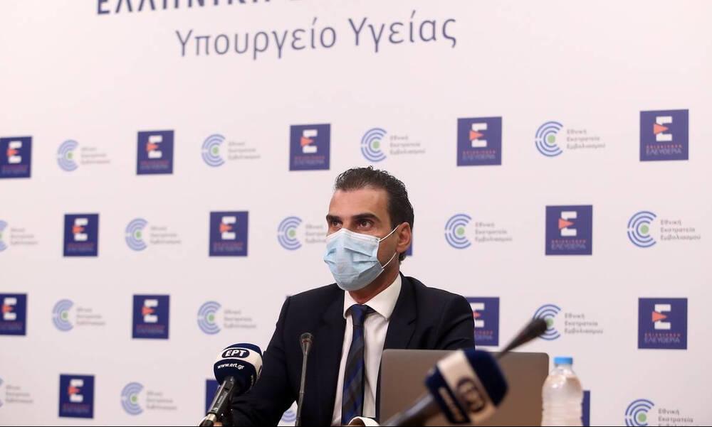 Θεμιστοκλέους: To 57,7% του γενικού πληθυσμού έχει εμβολιαστεί πλήρως