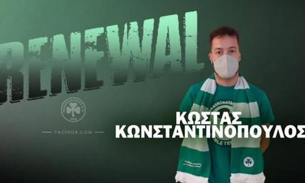 Παναθηναϊκός:Δυνατό το τμήμα πινγκ πονγκ με τον Κώστα Κωνσταντινόπουλο να μένει για 5η σερί χρονιά!