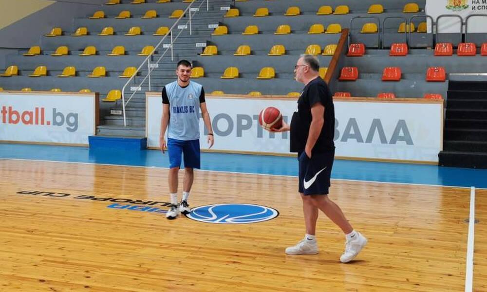 Ηρακλής: Προπόνηση στο «Triaditsa Sports Hall» ενόψει Akademik Plovdiv (photos)