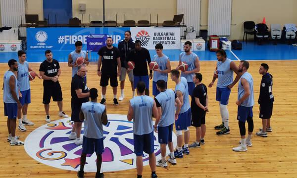 Ηρακλής-Σκουρτόπουλος: «Στόχος η πρόκριση στους ομίλους του FIBA Europe Cup»