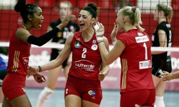 Champions League Γυναικών: Στον επόμενο γύρο ο Ολυμπιακός - Θριαμβευτική πρόκριση με Αστερίξ