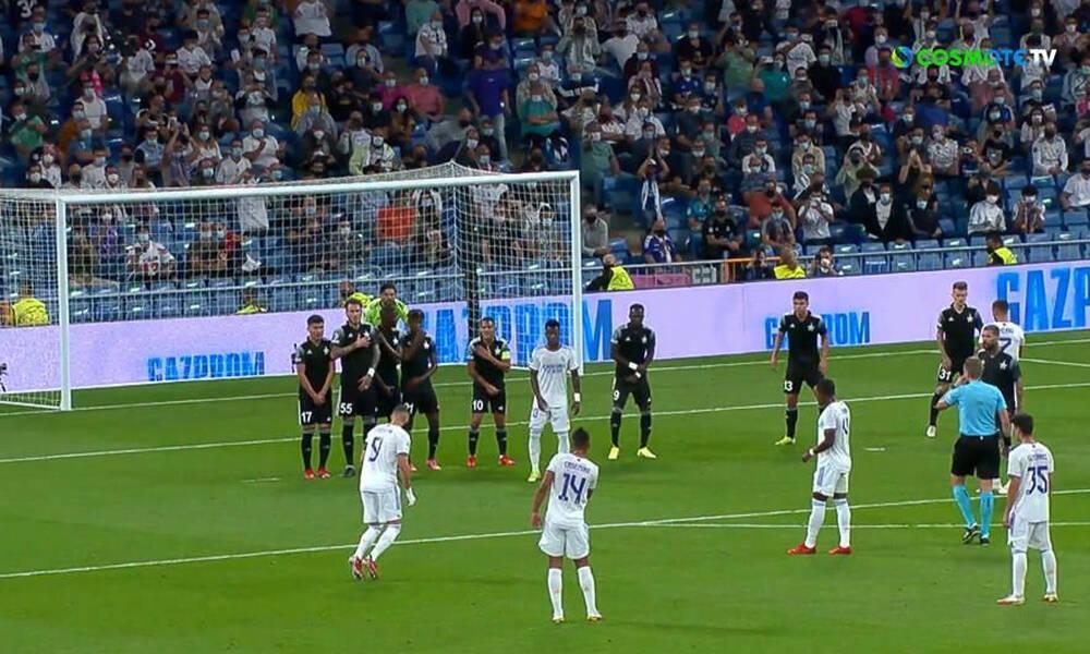 Champions League - Ρεάλ-Σέριφ: Τρομερή επέμβαση Αθανασιάδη, απογειώθηκε σε φάουλ του Μπενζεμά