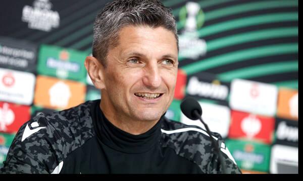 Λουτσέσκου: «Ο ΠΑΟΚ θα δώσει τα πάντα για τη νίκη με Σλόβαν Μπρατισλάβας και την πρόκριση»