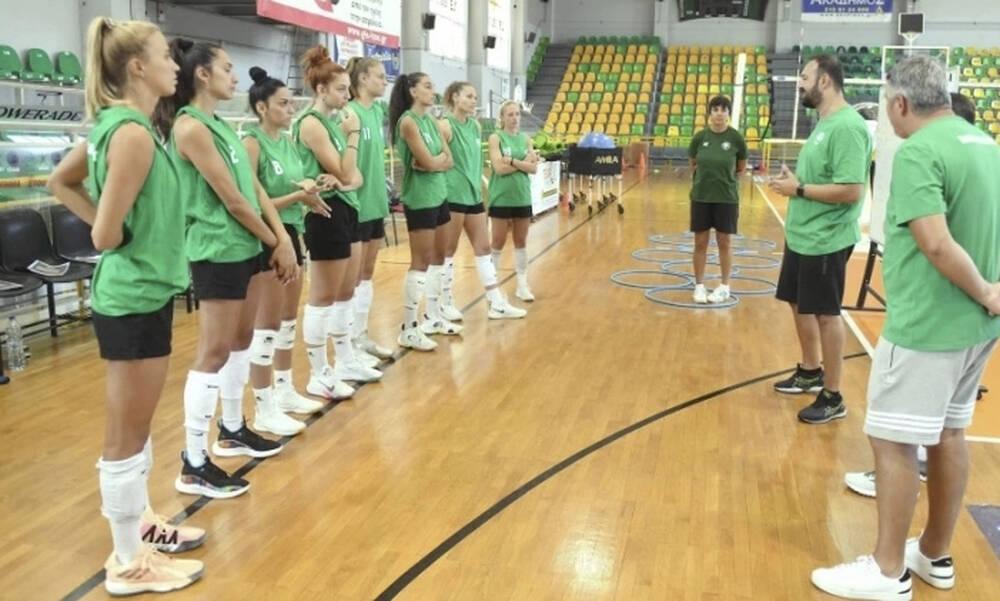 Βόλεϊ γυναικών - Παναθηναϊκός: Φιλική νίκη κόντρα στην ΑΕΚ