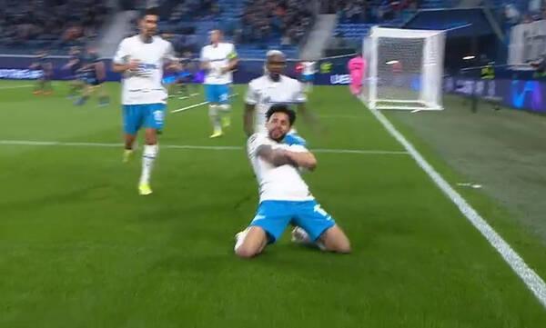 Champions League: Μπροστά η Ζενίτ με… σάμπα στη Ρωσία! (Video)