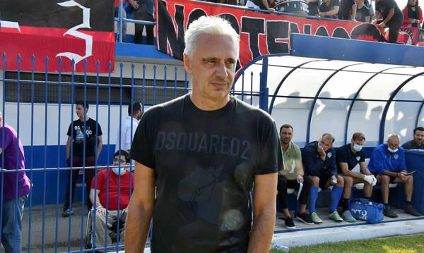 Χαραλαμπίδης: «Με άλλους παίκτες προετοιμαζόταν το Αιγάλεω, άλλοι έπαιξαν»