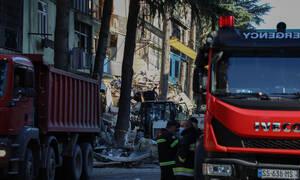 Εθνική ομάδα: Κατέρρευσε κτήριο στη Γεωργία κοντά στο ξενοδοχείο της ελληνικής αποστολής