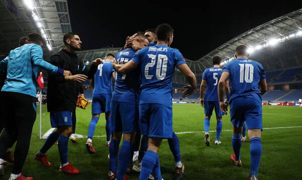 Γεωργία-Ελλάδα 0-2: Τρελά πανηγύρια οι διεθνείς κι αφιέρωση στον Ζέκα! (photos)