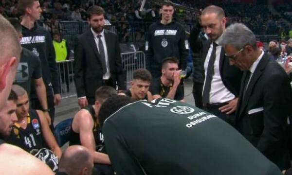 Απίστευτος Ομπράντοβιτς, τα... έψαλλε στους παίκτες του στο +26 (video)